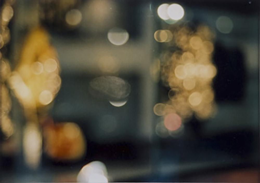o. T. (Fingerabdruck auf Schaufensterscheibe von Luxusladen) | 1995 | Fotografie | 22 x 34,5 cm