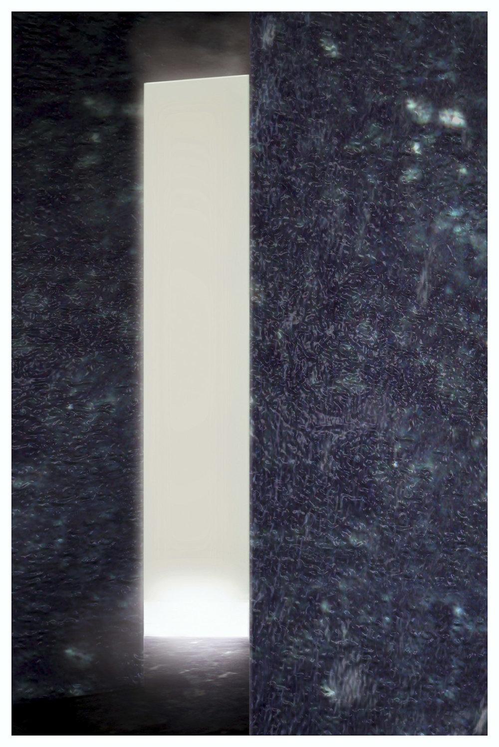 o.T. (CABIN IX) | 2009 | Fotografie, Aludibond und Plexiglas |196 x 126 cm