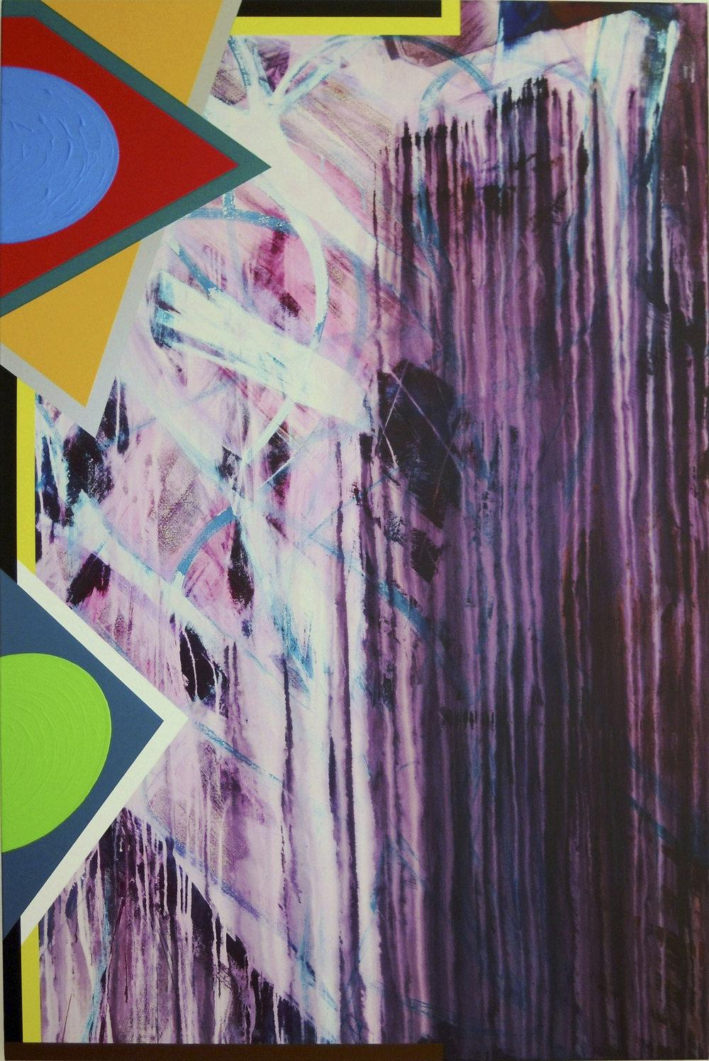 Bild-120 | Acryl auf Leinwand | 2010 | 180 x 120 cm
