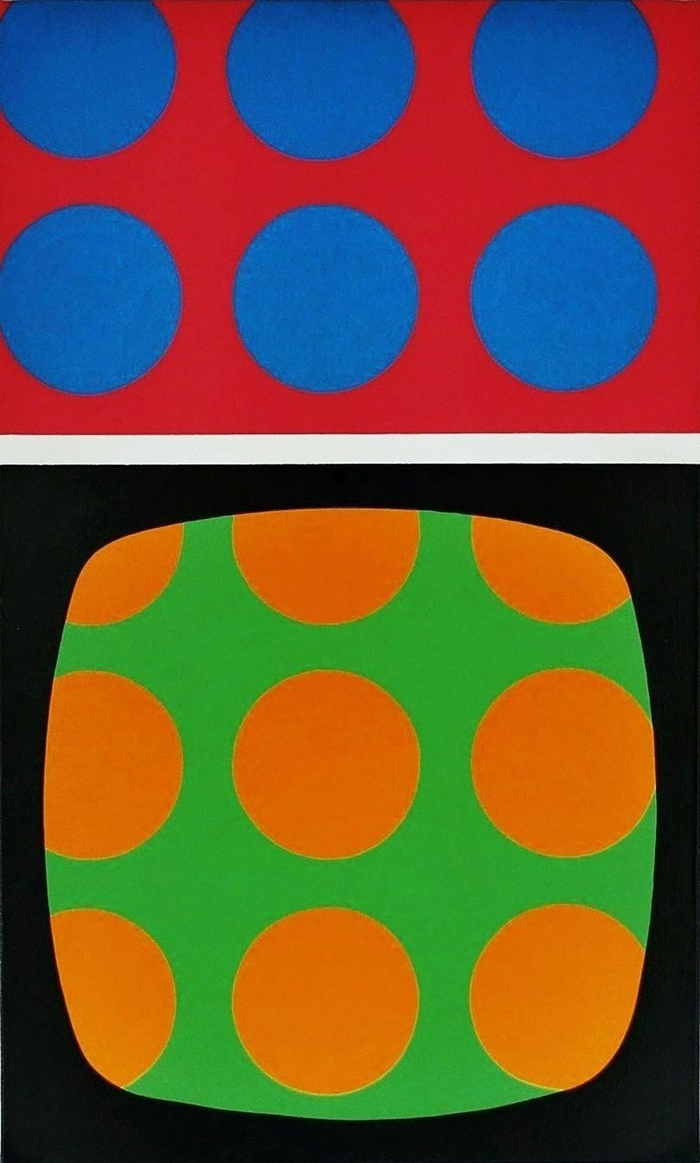 o.T. | Acryl auf Leinwand | 1987 | 100 x 60 cm