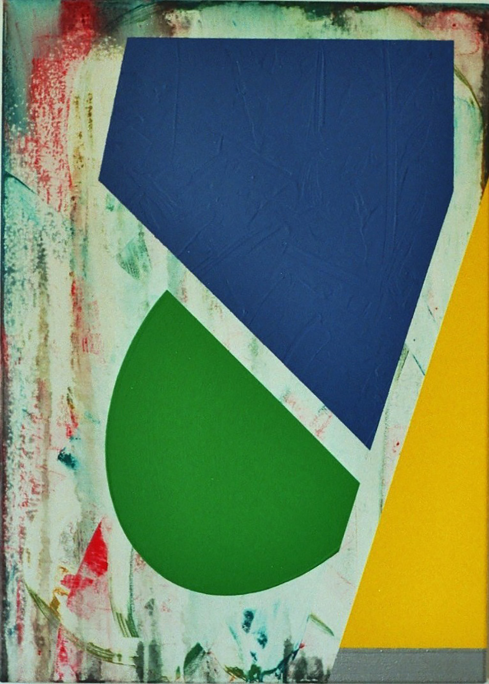 Relief-2 | Acryl auf Leinwand | 2010 | 70 x 50 cm