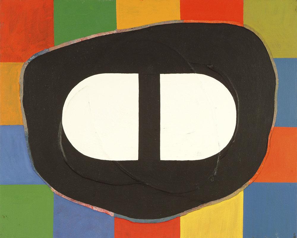 o.T. | Acryl und Dispersion auf Leinwand | 1986 | 40 x 50 cm
