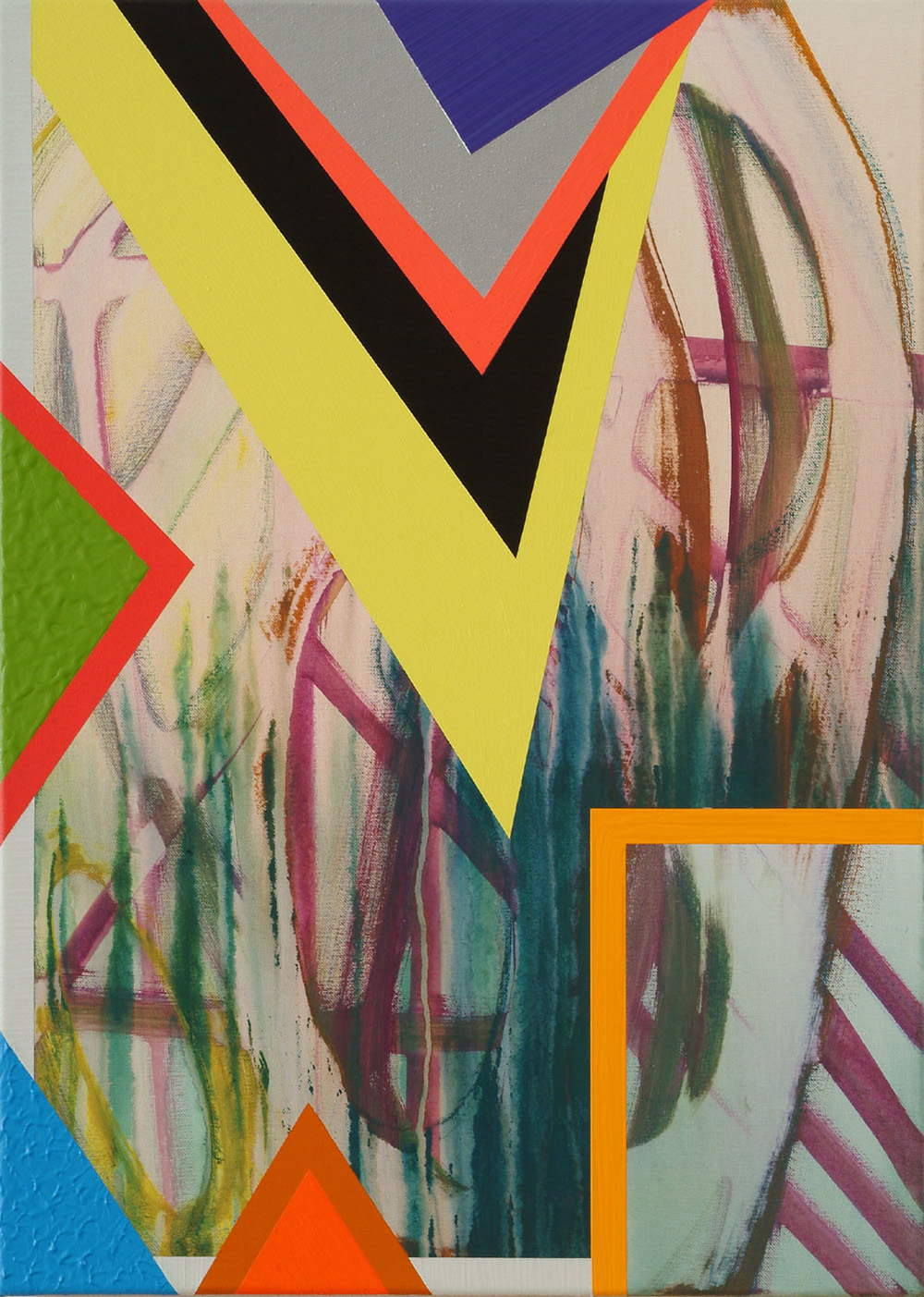 Bild-65 | Acryl auf Leinwand | 2008 | 70 x 50 cm