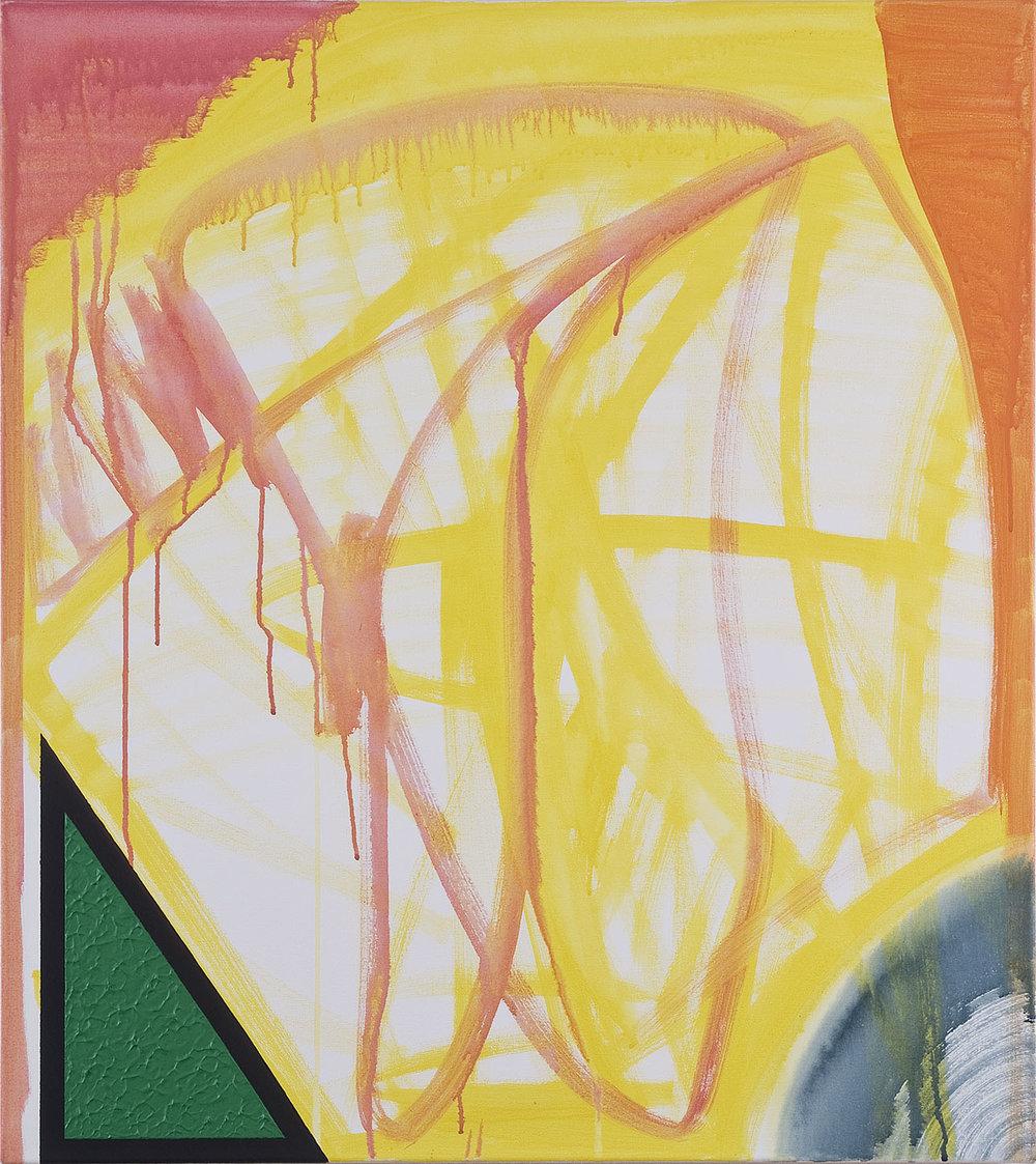 Bild-23 (Die Ahnung) | Acryl auf Leinwand | 2006 | 90 x 80 cm