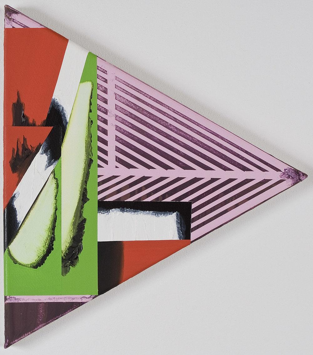 Cake 09.11.02   Öl und Acryl auf Leinwand   2009   25,5 x 29 cm