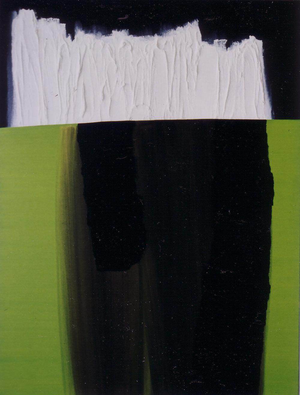 93.03.10 - C.A.P.   Öl auf Leinwand   1993   190 x 145 cm