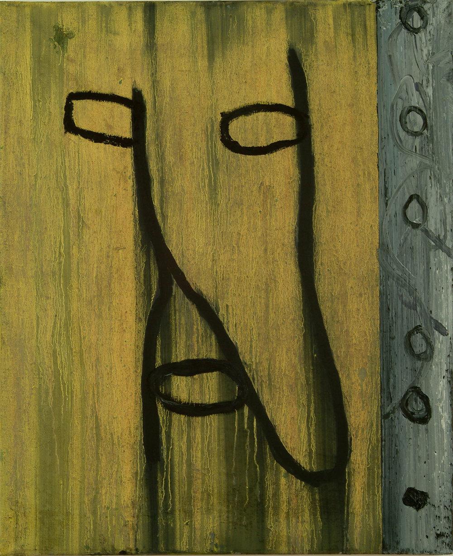 o.T. | Öl auf Leinwand | 1983 | 80 x 65 cm