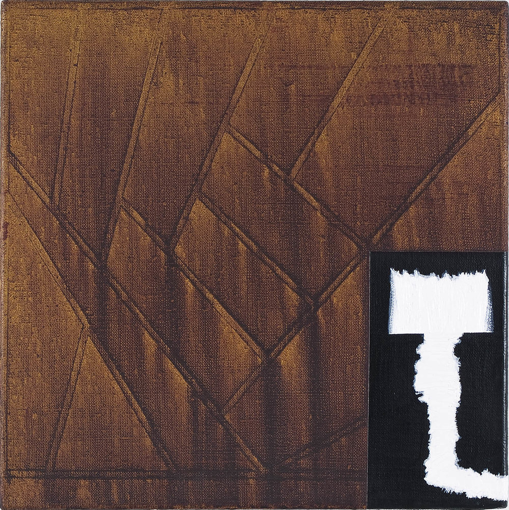 09.08.07 | Öl auf Leinwand | 2009 | 42 x 42 cm