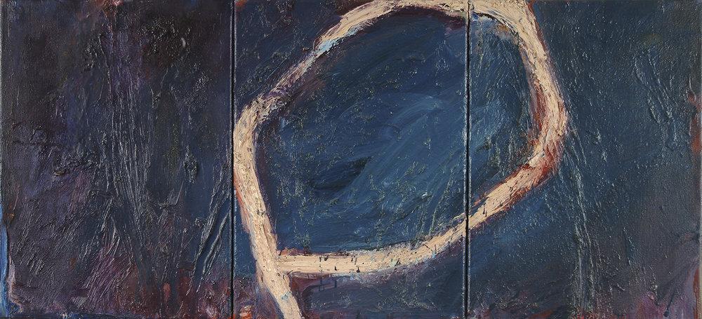 o.T.   Öl auf Leinwand   1982   56 x 122 cm
