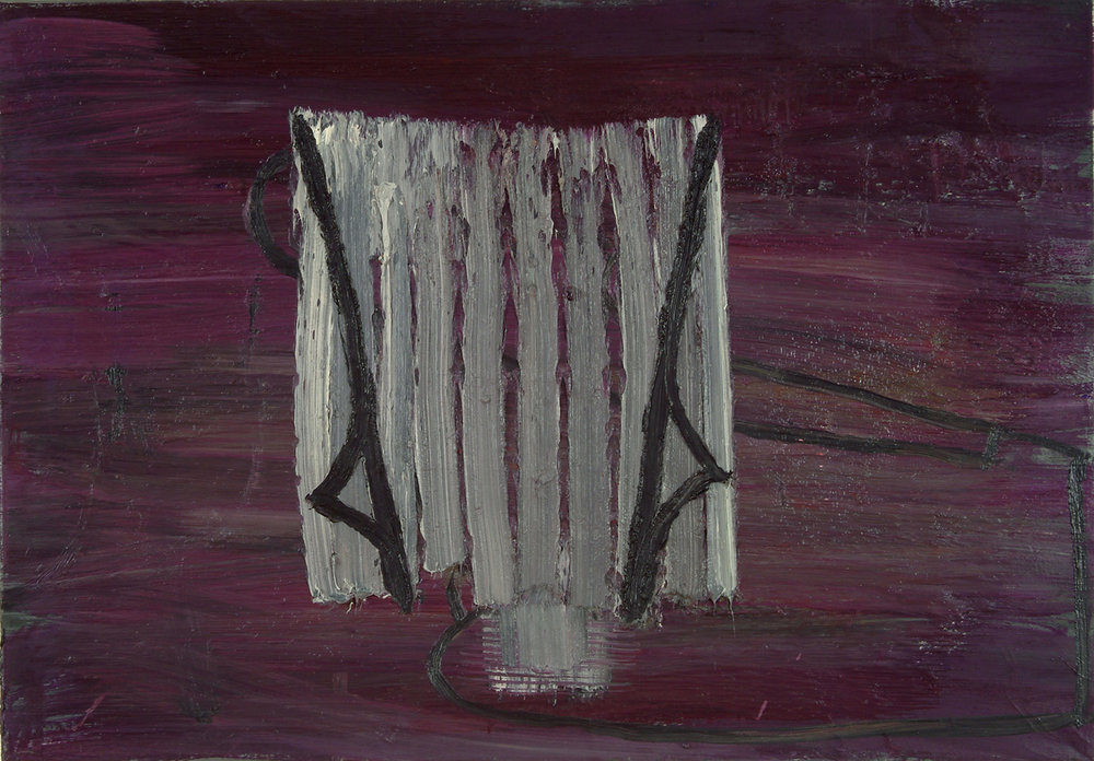 84.07.16   Öl auf Leinwand   1984   70 x 100 cm