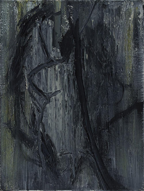 84.01.08   Öl und Acryl auf Leinwand   1984   62 x 47 cm