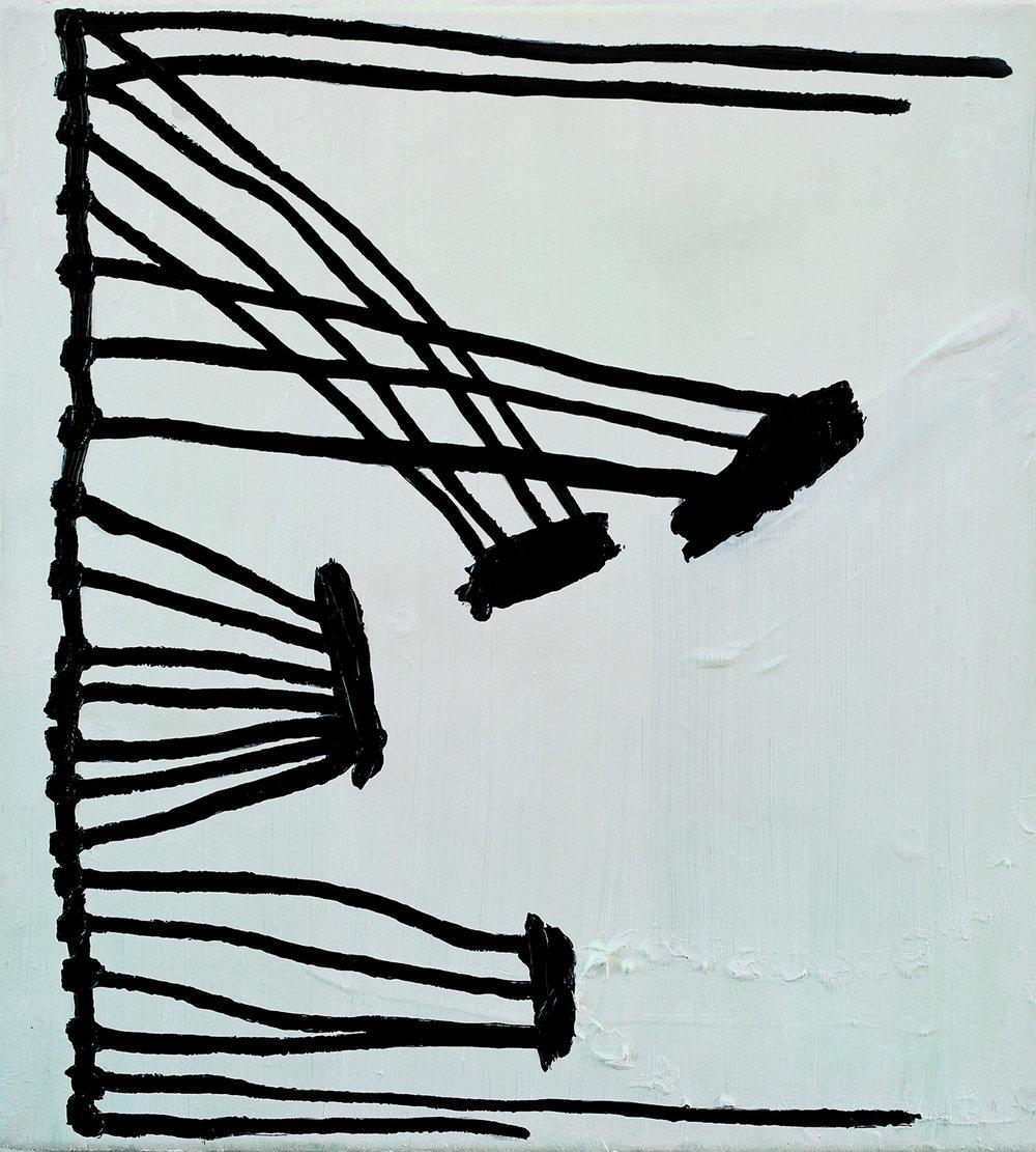 89.09.17 | Öl auf Leinwand | 1983-89 | 90 x 55,5 cm