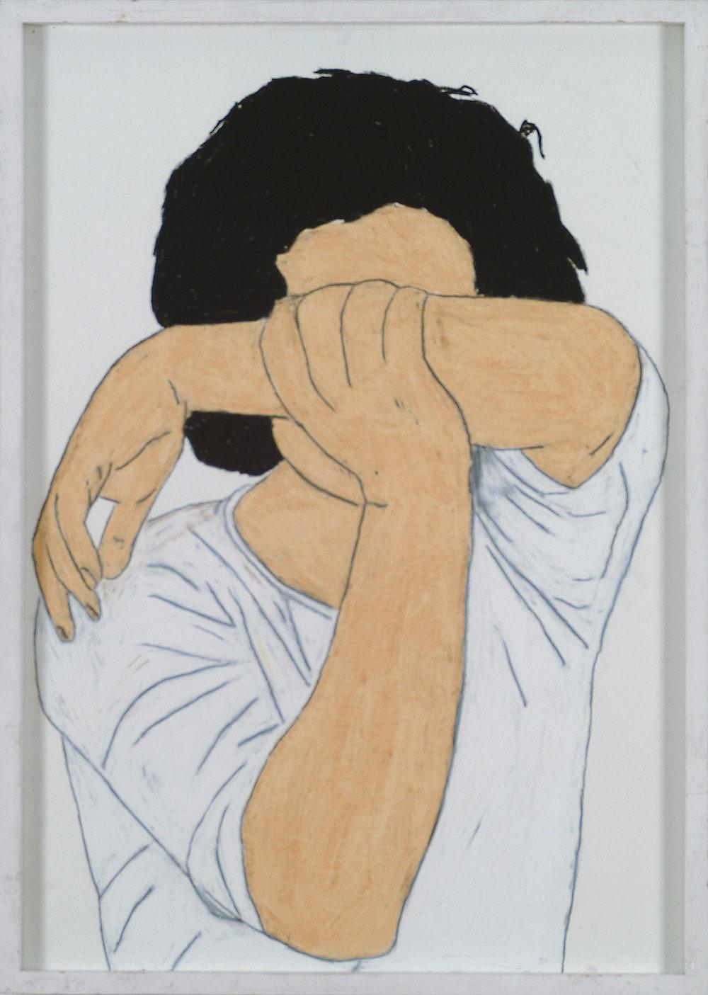 K. Rinke | Wachskreide auf Papier | 2008 | 84 x 59 cm