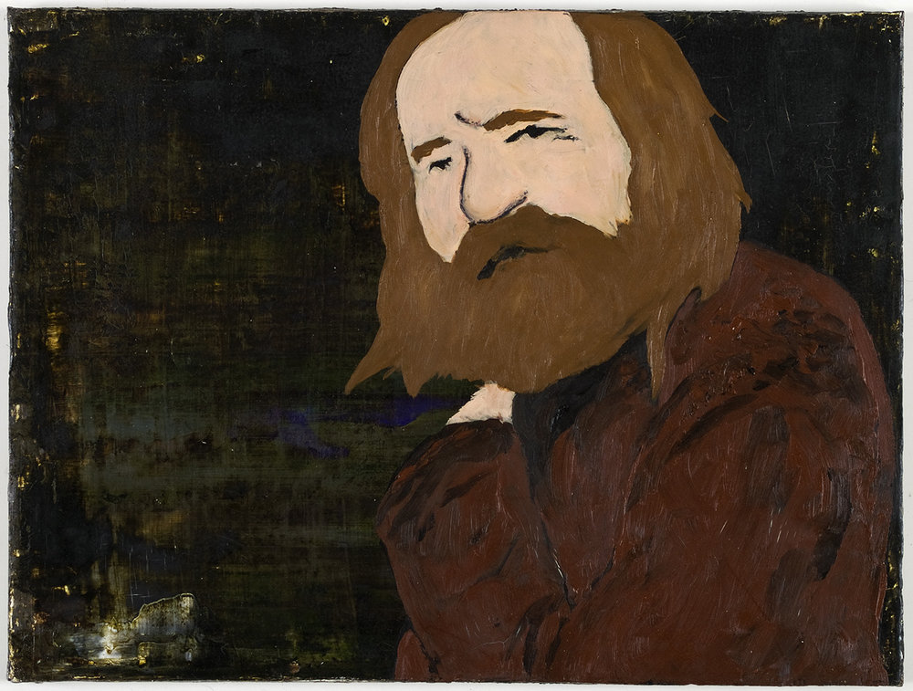 Miroslav Tichy | Mischtechnik auf Leinwand | 2008 | 30 x 40 cm