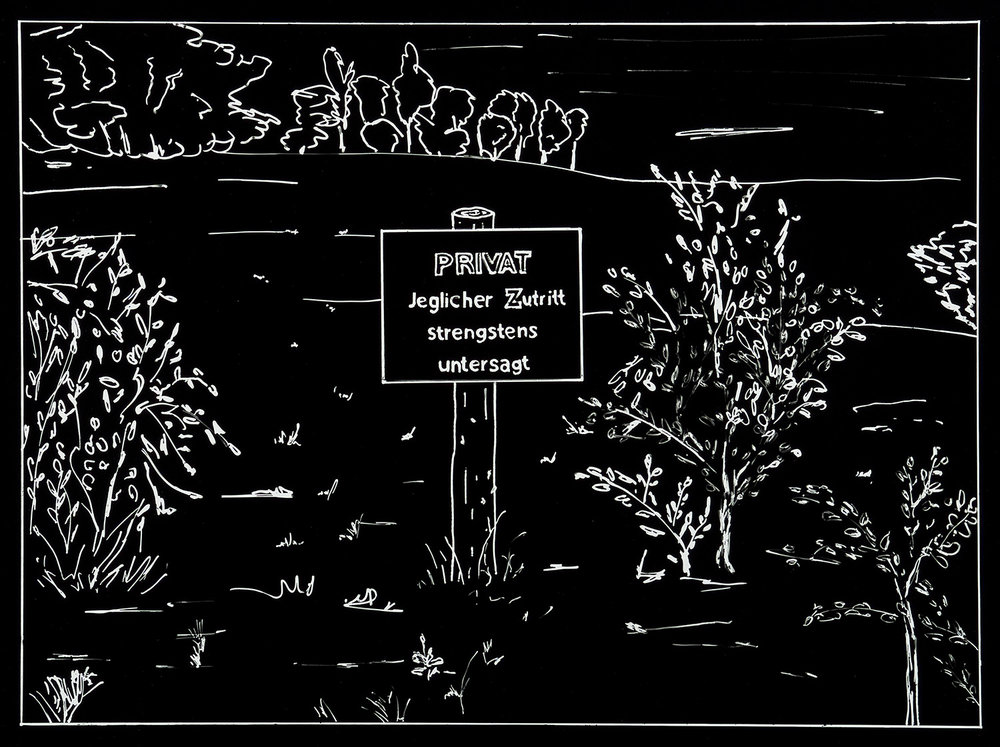 Der Besuch (1) | 1993 | Fotografie | 35,5 x 46,5 cm