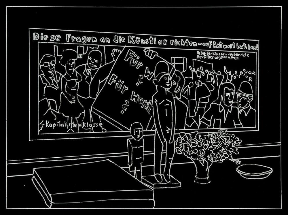 Der Besuch (12) | 1993 | Fotografie | 35,5 x 46,5 cm