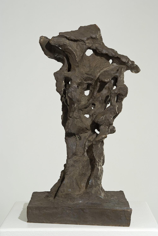 Der Physiker | 2006 | Bronzeplastik | 39 x 19,5 x 20,5 cm