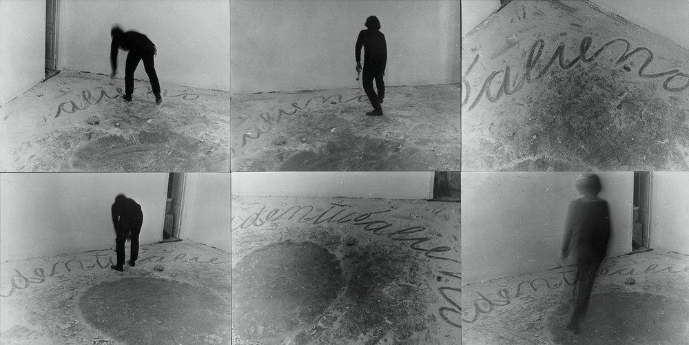Identico alieno scambiato | 1968 | 6 Fotografien, collagiert |27 x 73 cm