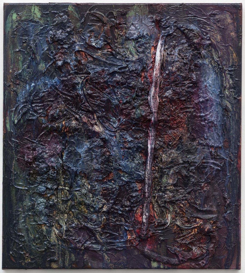 o.T. | 2009-2011 | Öl auf Leinwand | 54 x 59 cm