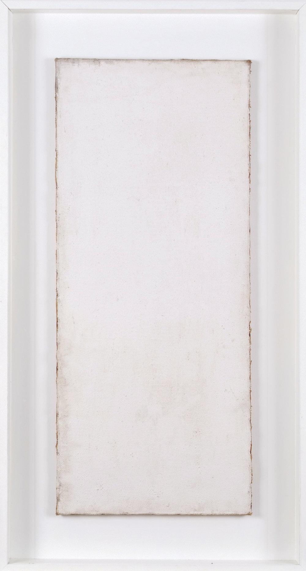 Nesselgrund IV | 1962 | Kreidegrund auf Leinwand | 131,5 x 71 x 8 cm