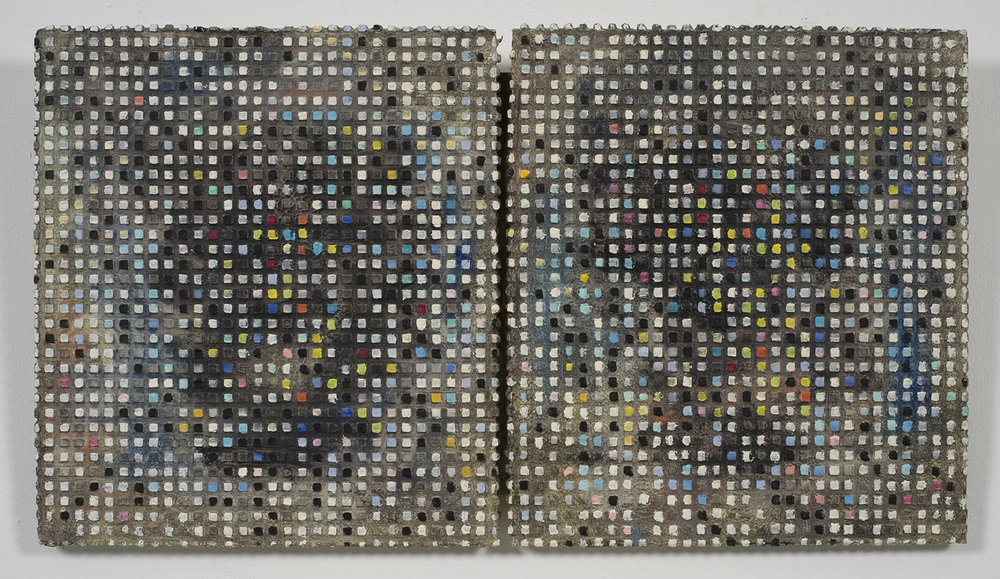 Double Dutch | 1985 | Öl und Acryl auf Leinwand | 33,5 x 59,5 cm