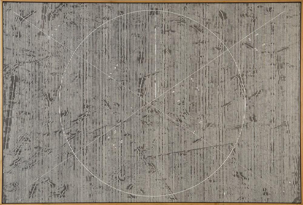 Theta group #1 | 1976 | Acryl auf Leinwand | 70 x 120 cm
