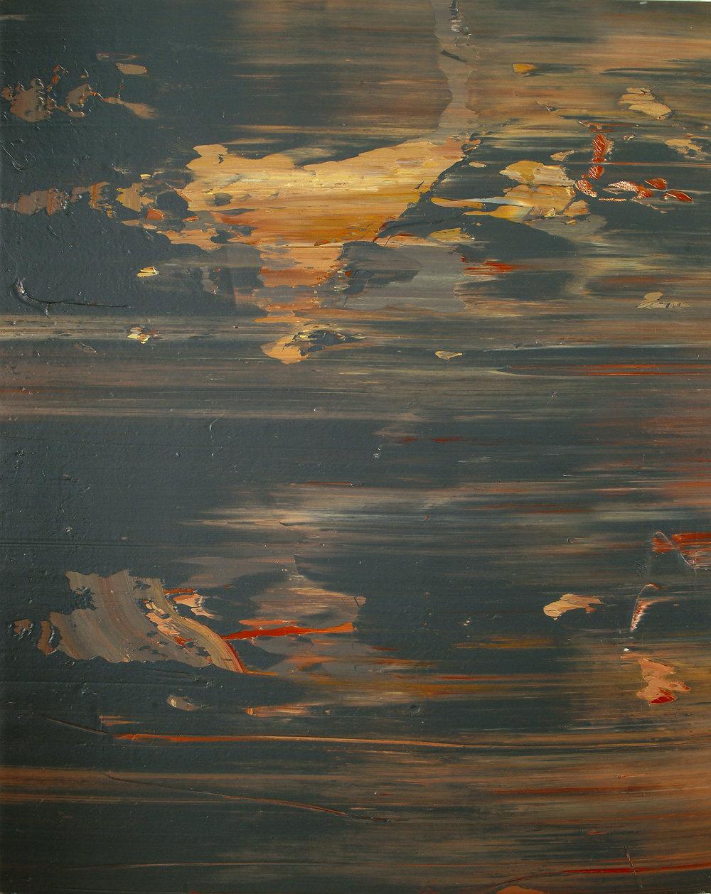 Delacroixs Palette | 1974 | Öl auf Leinwand | 184 x145 cm