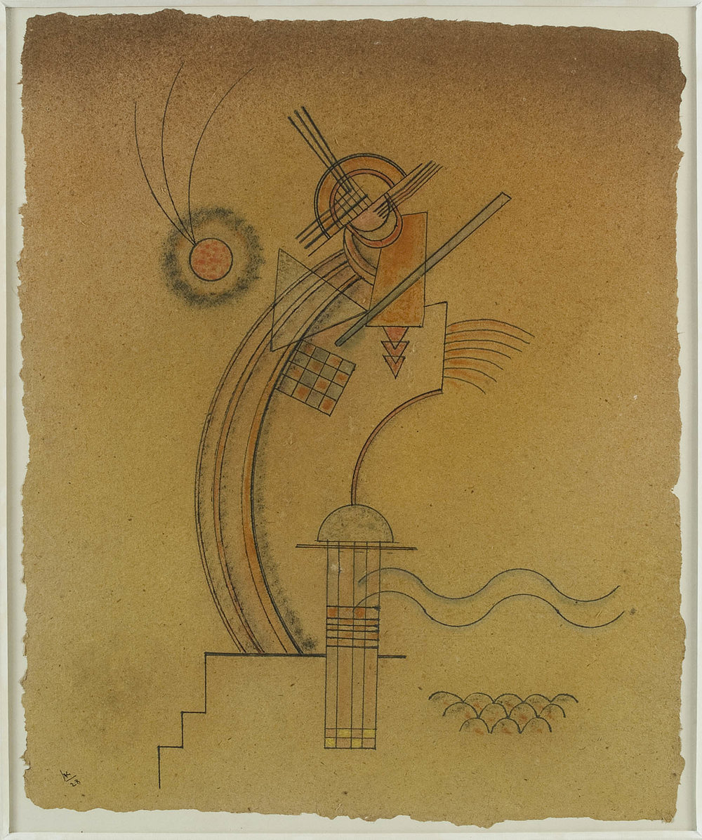 Improvisation III | Aquarell und Tusche auf Papier