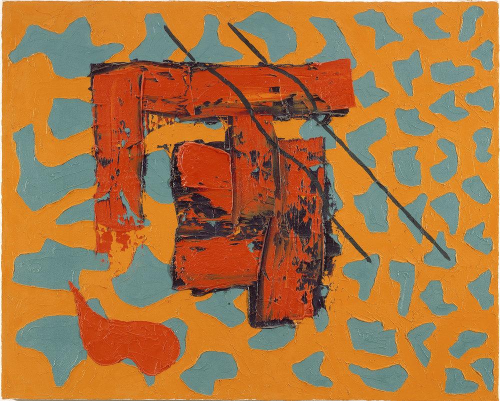 Fling | 1984 | Öl auf Leinwand | 61 x 76 cm