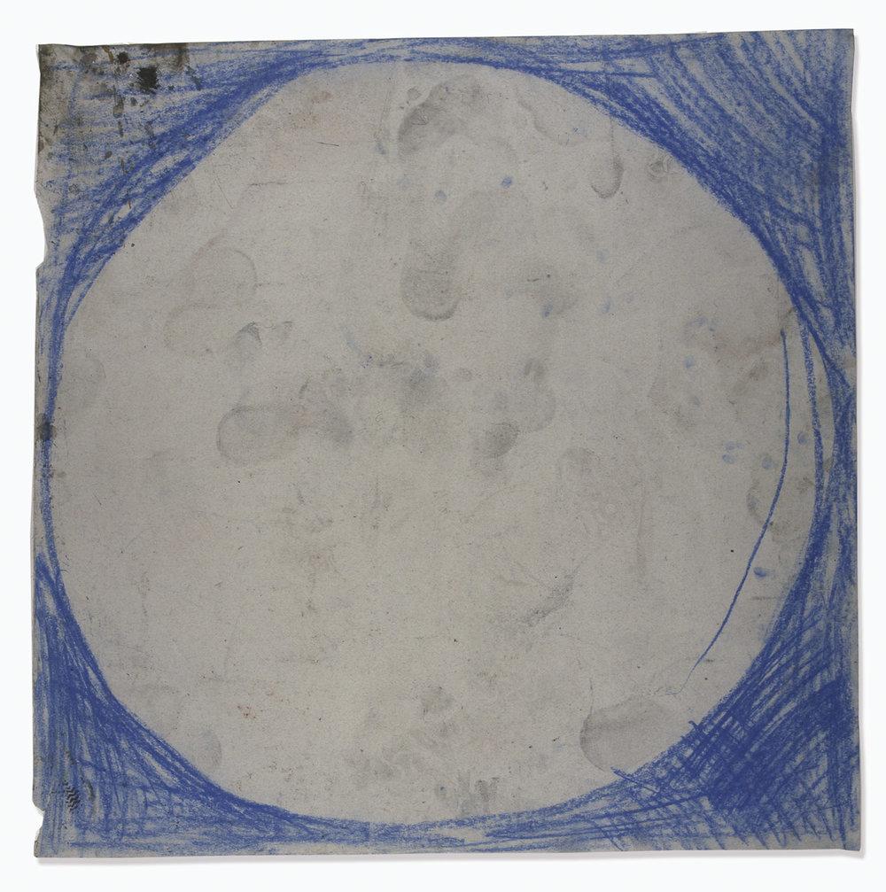 o.T. | 1993 | Kreide auf Papier | 69 x 69 cm