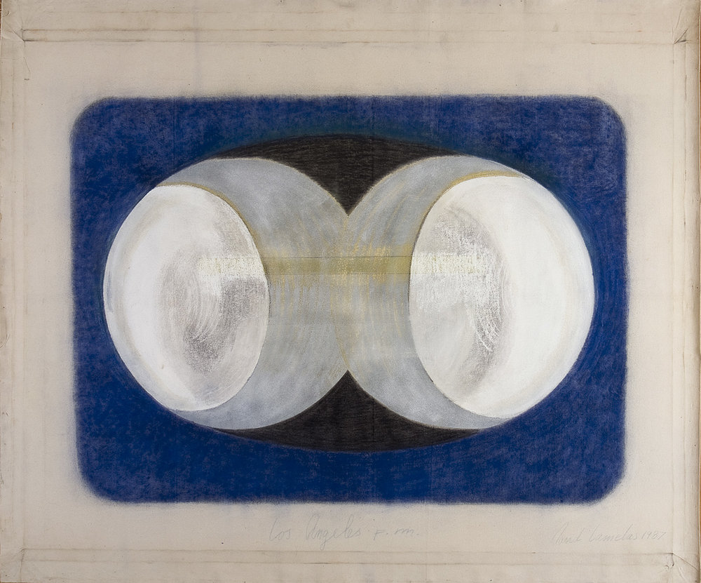 Los Angeles p.m. | 1987 | Malerei, Mischtechnik | 131,5 x 168,5 cm
