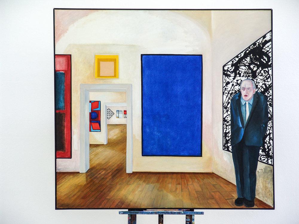 Museum B | Öl auf Leinwand | 1978 | 160 x 180 cm