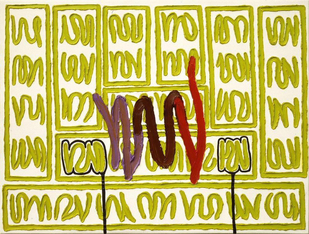 How to Be Unique | 1993 | Öl auf Leinwand | 76 x 101 cm