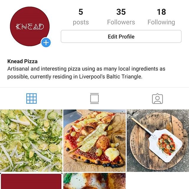 "Come on guys! Give @kneadpizzauk a follow on Instagram. They ""knead"" your support! #pizza #liverpool #baltictriangle #food #fastfood #chef #new #fresh #local"