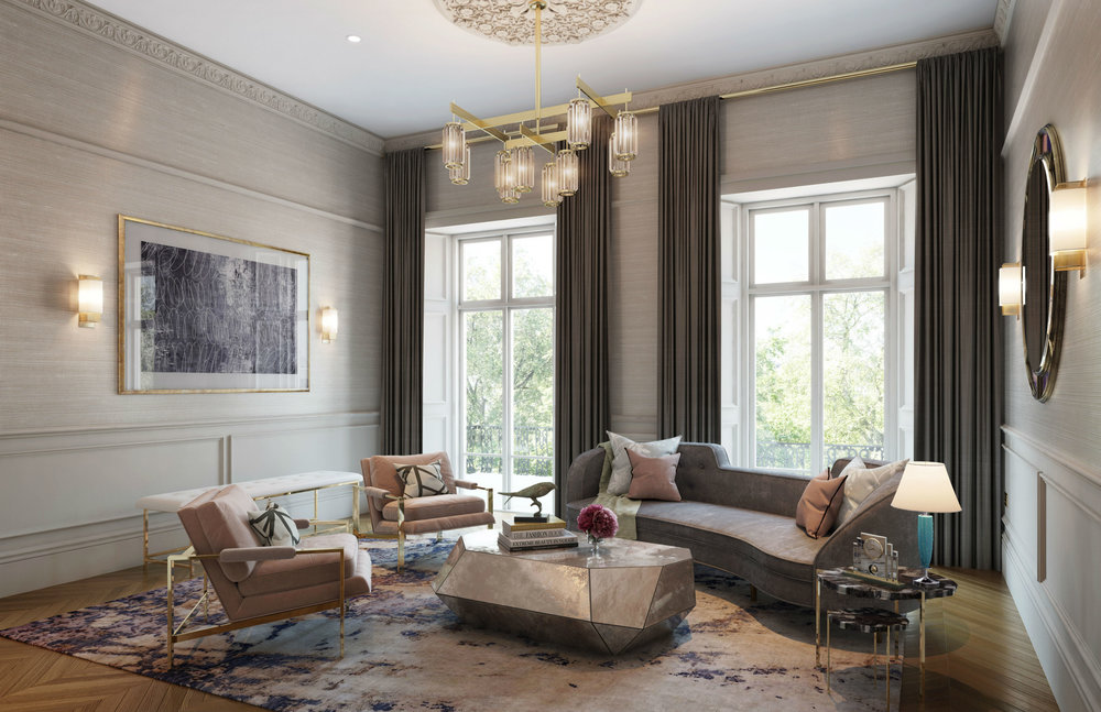 CGI styled by Studio L London and rendered by Visualisation One