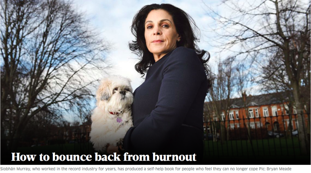 The Sunday Business Post - How to bounce back from Burnout