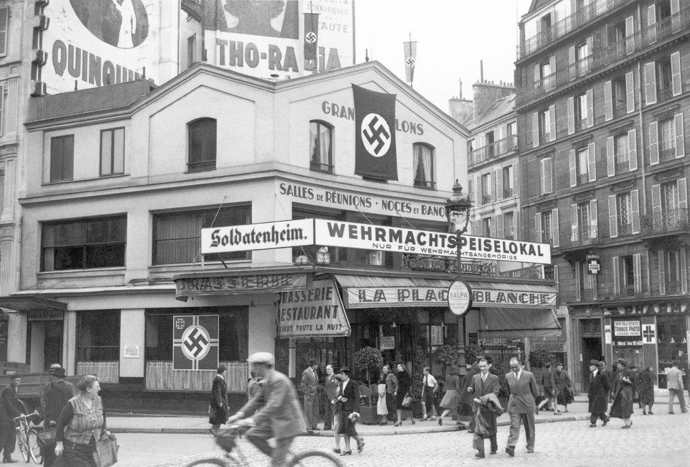 The Storm over Paris - William Grubman - The Nazi Occupation of Paris