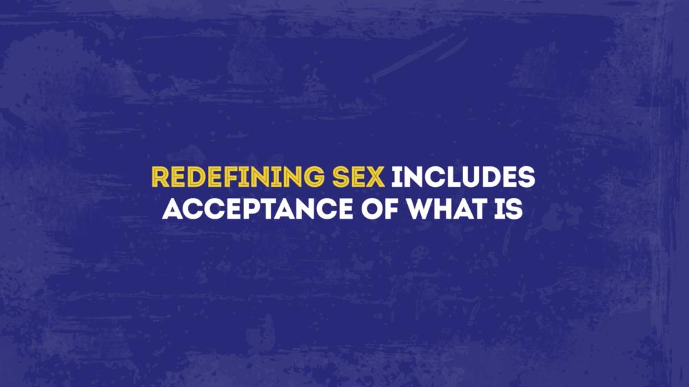 Sex After SCI Redefining Sex 1