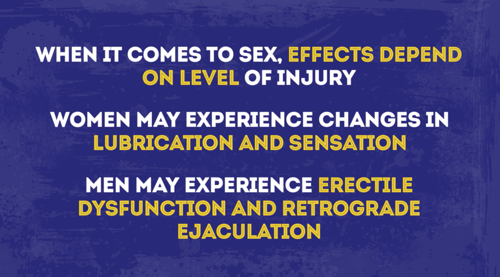 Sex After SCI Effects on Sex 1