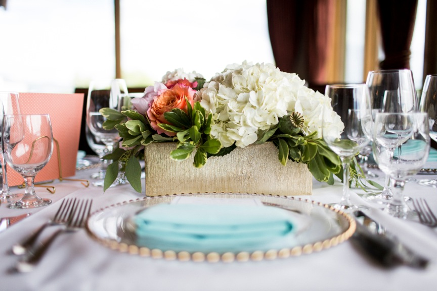 Vail Valley Wedding reception long low table fresh flower arrangement.jpeg
