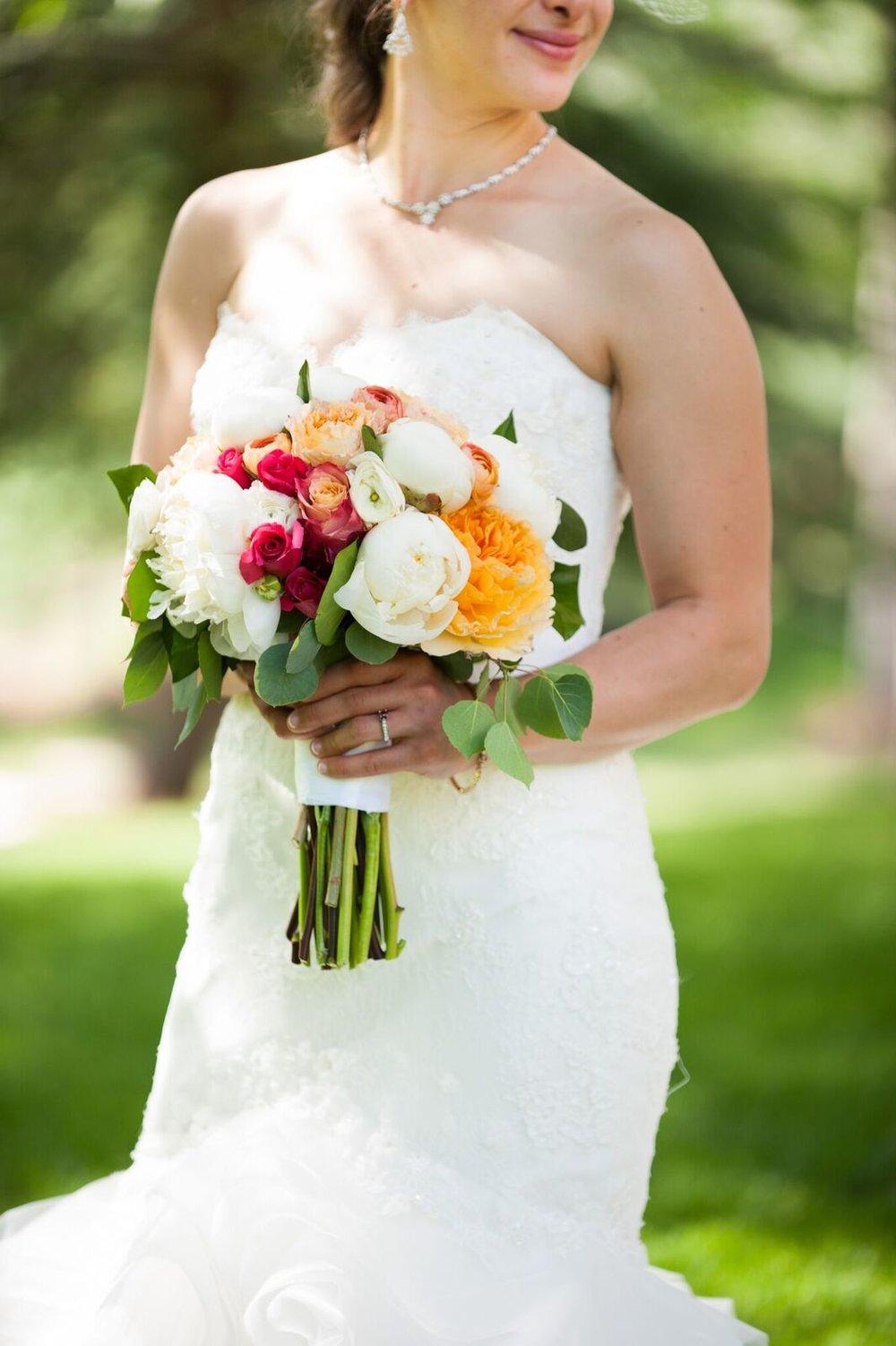 wedding bouquets vail colorado summer