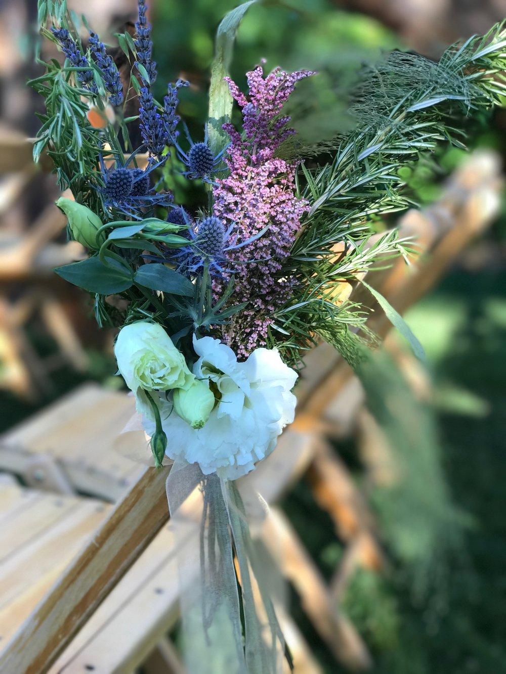 outdoor wedding florist eagle co