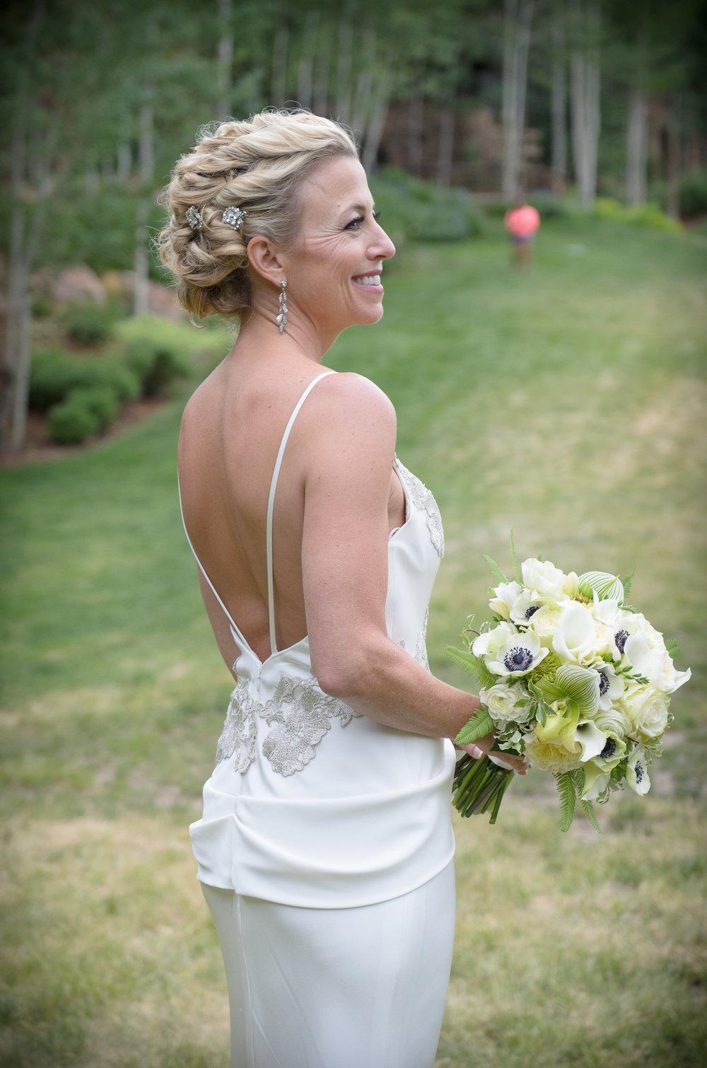 vail resort wedding bouquets