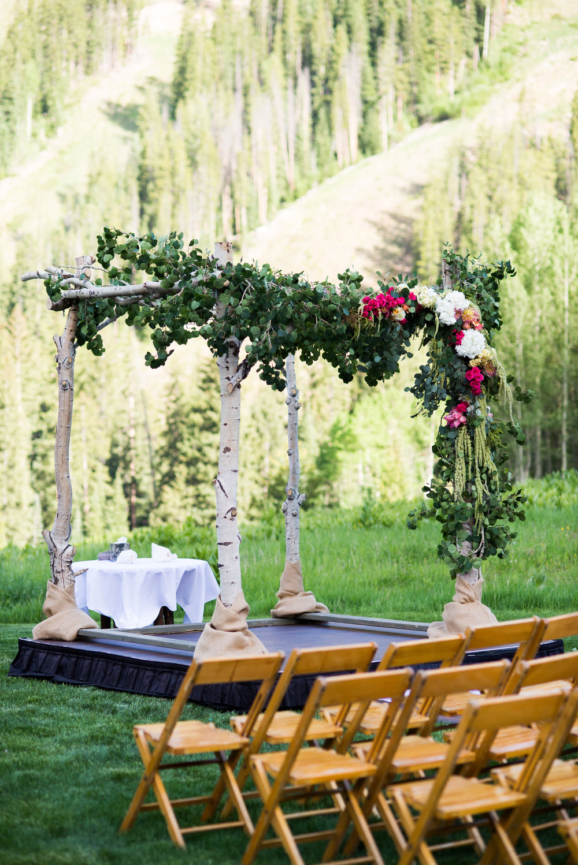 wedding chuppah vail co