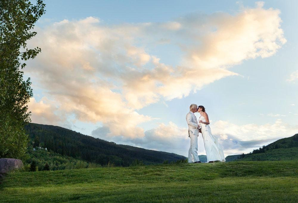 mountain wedding flowers