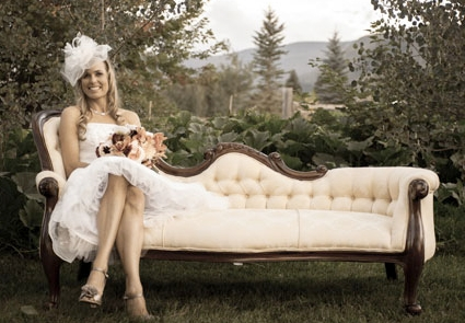 Owner Dora Lea Farley on her wedding day.
