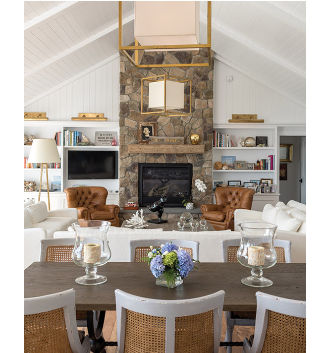 Cape Porpoise Cottage designed by Hurlbutt Designs