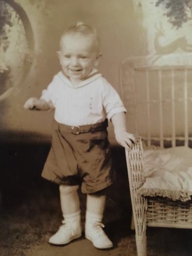 Lorenzo Albacete, age one, 1942.