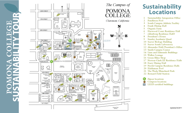 Pomona College Sustainability Tour Bowen Close