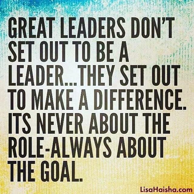 #leadthechange #bethedifference